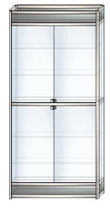 стеклянная витрина в1