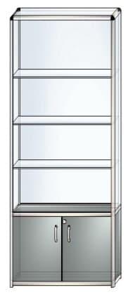 стеклянная витрина в4
