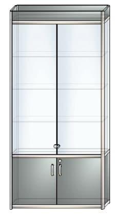 стеклянная витрина в5