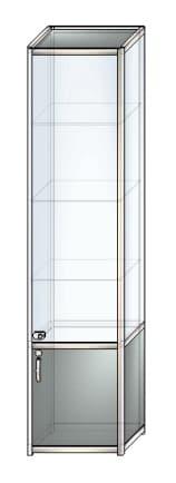 стеклянная витрина c1