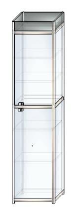 стеклянная витрина c8