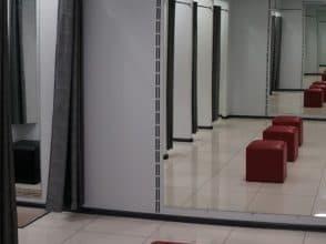 Зеркало для магазина 1800х1000 с фацетом 20 мм