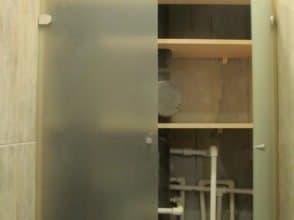 Дверцы из стекла мателюкс 4 мм