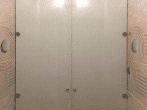 Дверцы из стекла лакобель 4 мм