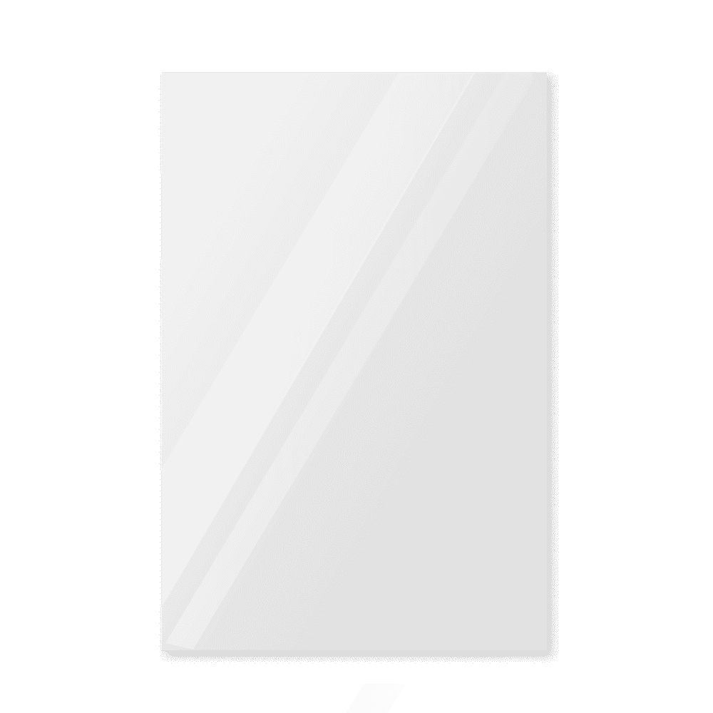 Зеркало в примерочную 1000×1400 с еврокромкой и креплением на клей