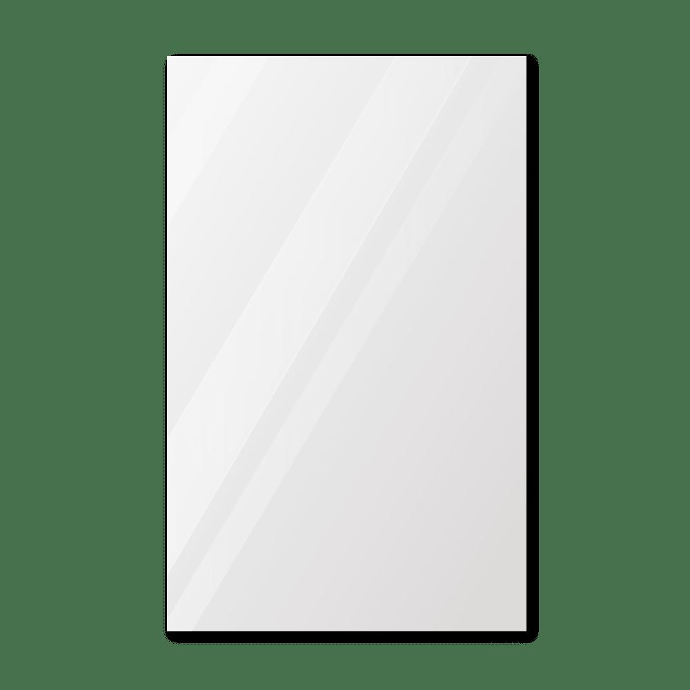 Зеркало в примерочную 600×1000 мм с фацетом 25 мм, отверстиями для крепления и противоосколочной пленкой