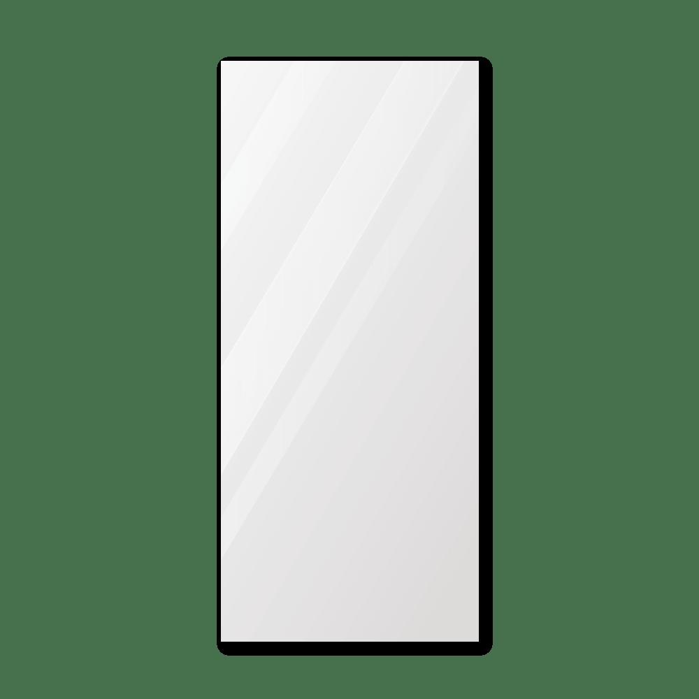 Зеркало в ванную 300×700 мм с еврокромкой и креплением на клей