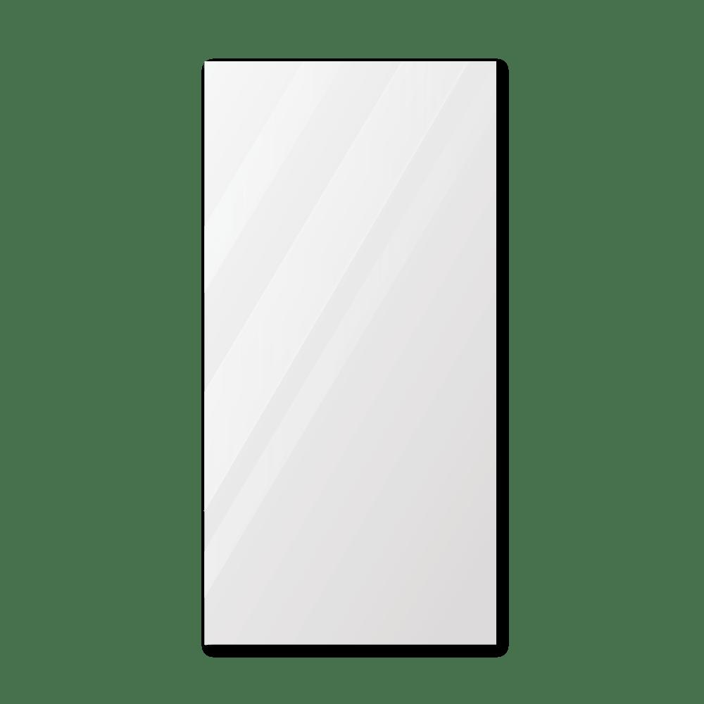 Зеркало в примерочную 600×1200 мм с фацетом 25 мм, отверстиями для крепления и противоосколочной пленкой