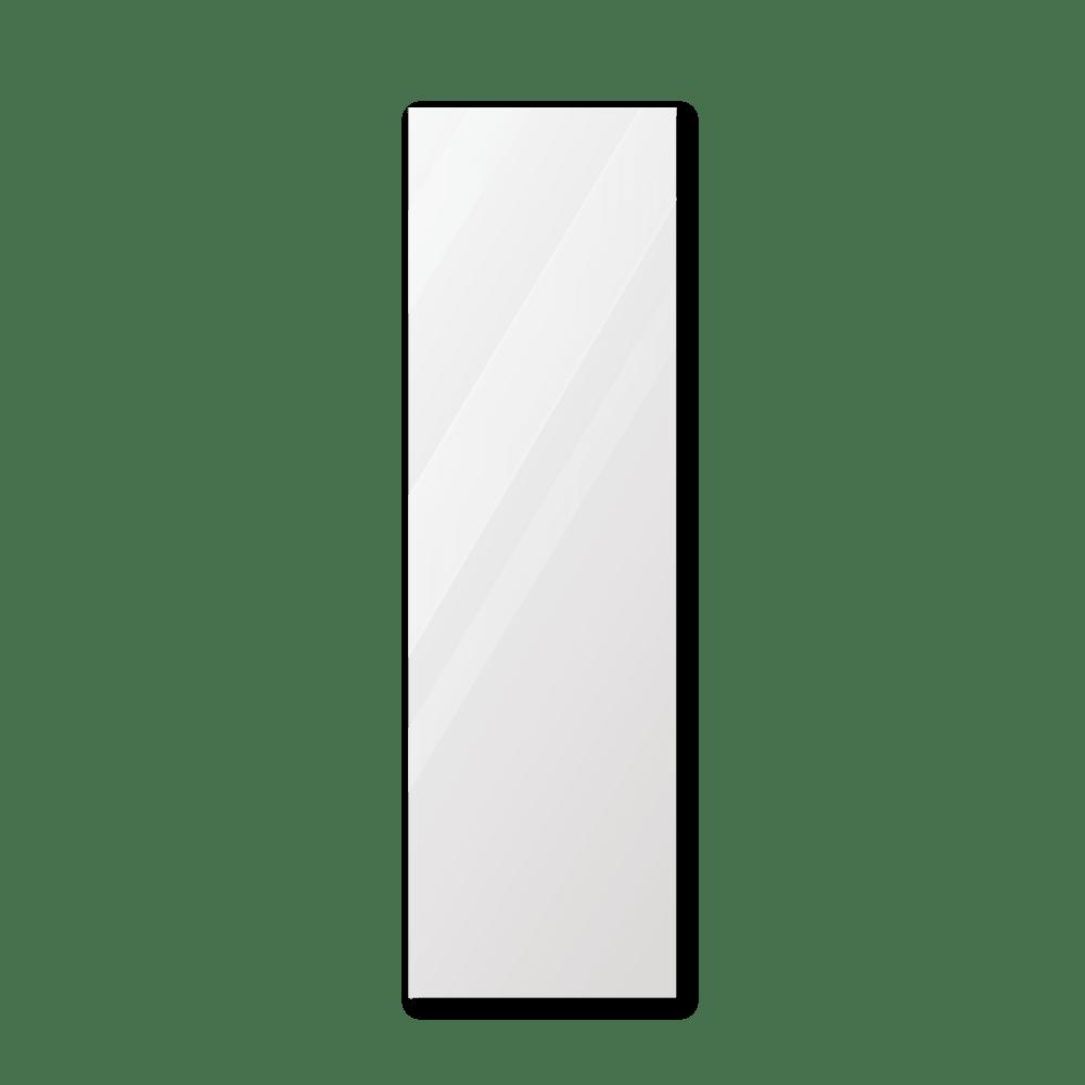 Зеркало в ванную 300×1000 мм с фацетом 10 мм, отверстиями для крепления и противоосколочной пленкой
