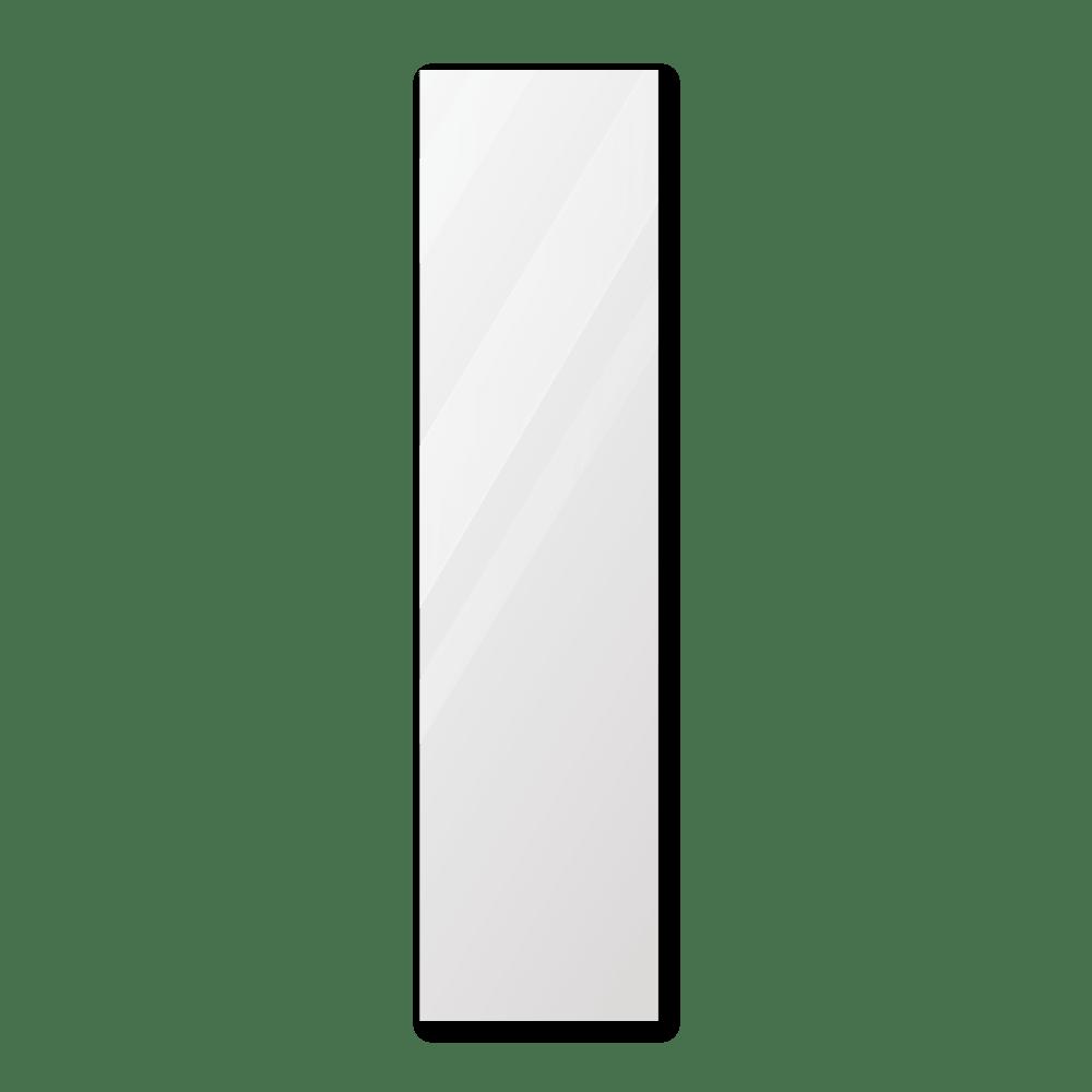 Зеркало в парикмахерскую 400×1600 мм с фацетом 25 мм, отверстиями для крепления и противоосколочной пленкой