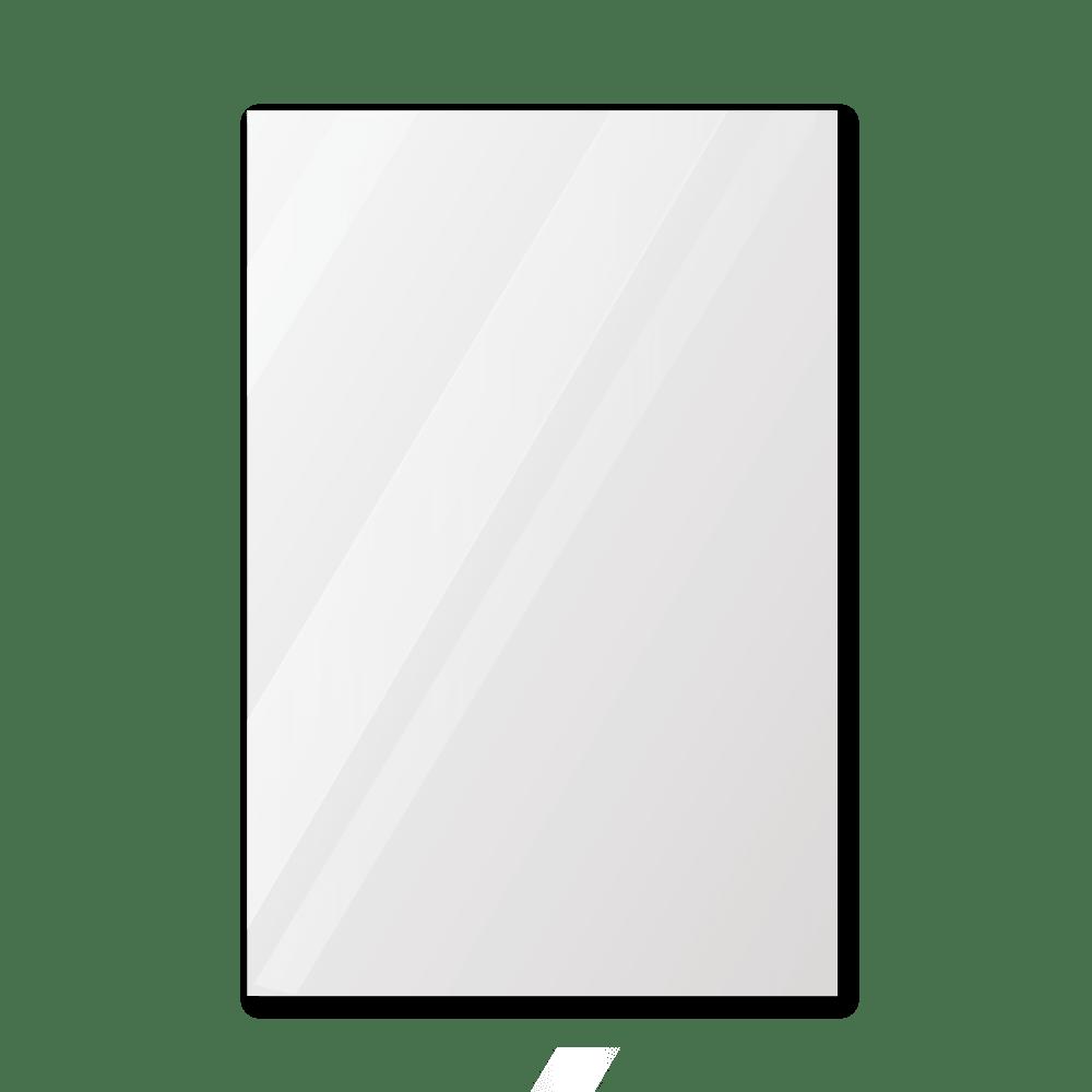 Зеркало для спортзала 500×700 мм с фацетом 25 мм, отверстиями для крепления и противоосколочной пленкой