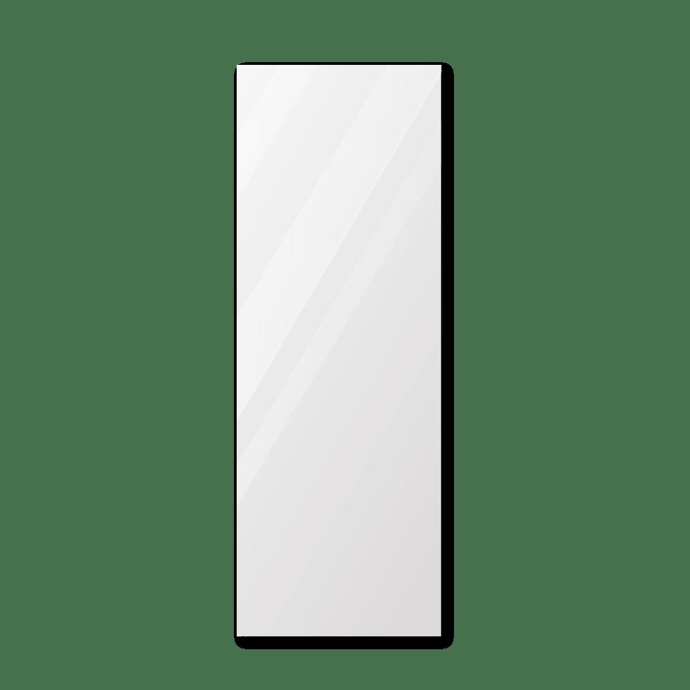 Зеркало в примерочную 600×1600 мм с фацетом 25 мм, отверстиями для крепления и противоосколочной пленкой
