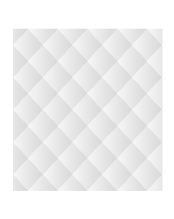 Зеркальное панно 1495×1370 мм с фацетом 15 мм, серебро
