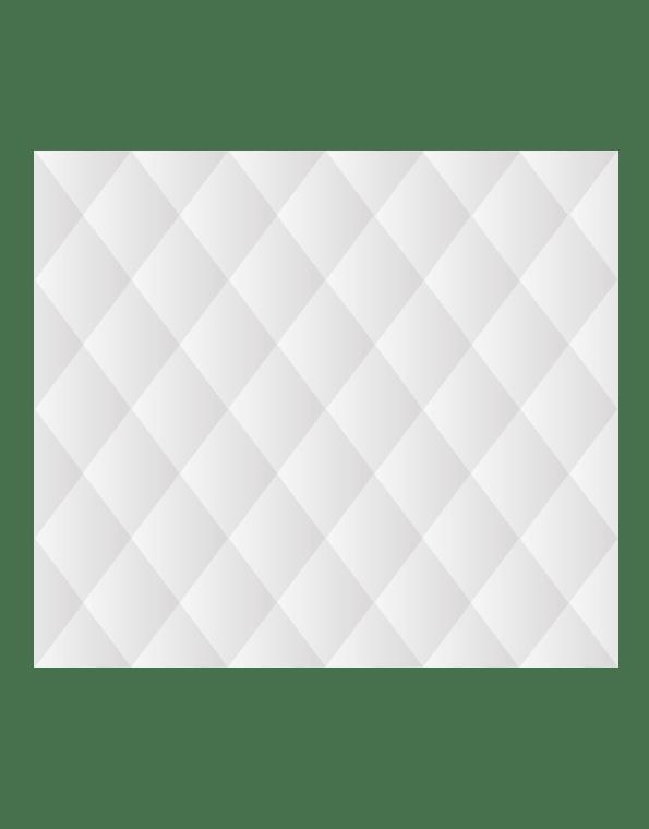 Зеркальная плитка 1700×1500 мм с фацетом 15 мм, серебро