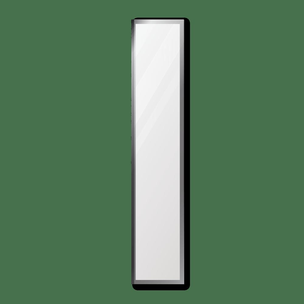 Зеркало 300×1600 мм с фацетом 20 мм в алюминиевой раме