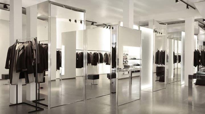 Как выбрать зеркало в магазин?