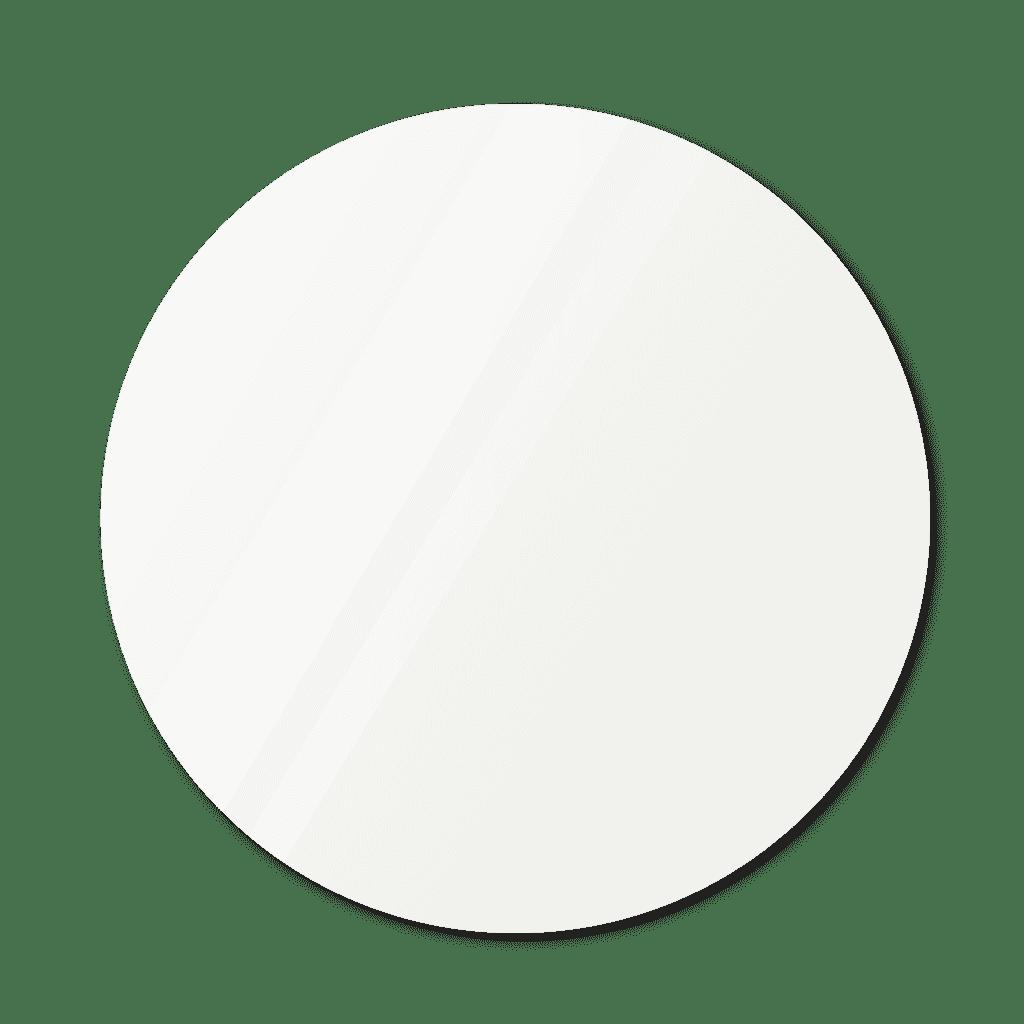 Круглое зеркало диаметром 1090 мм с фацетом 25 мм осветленные со скрытым креплением