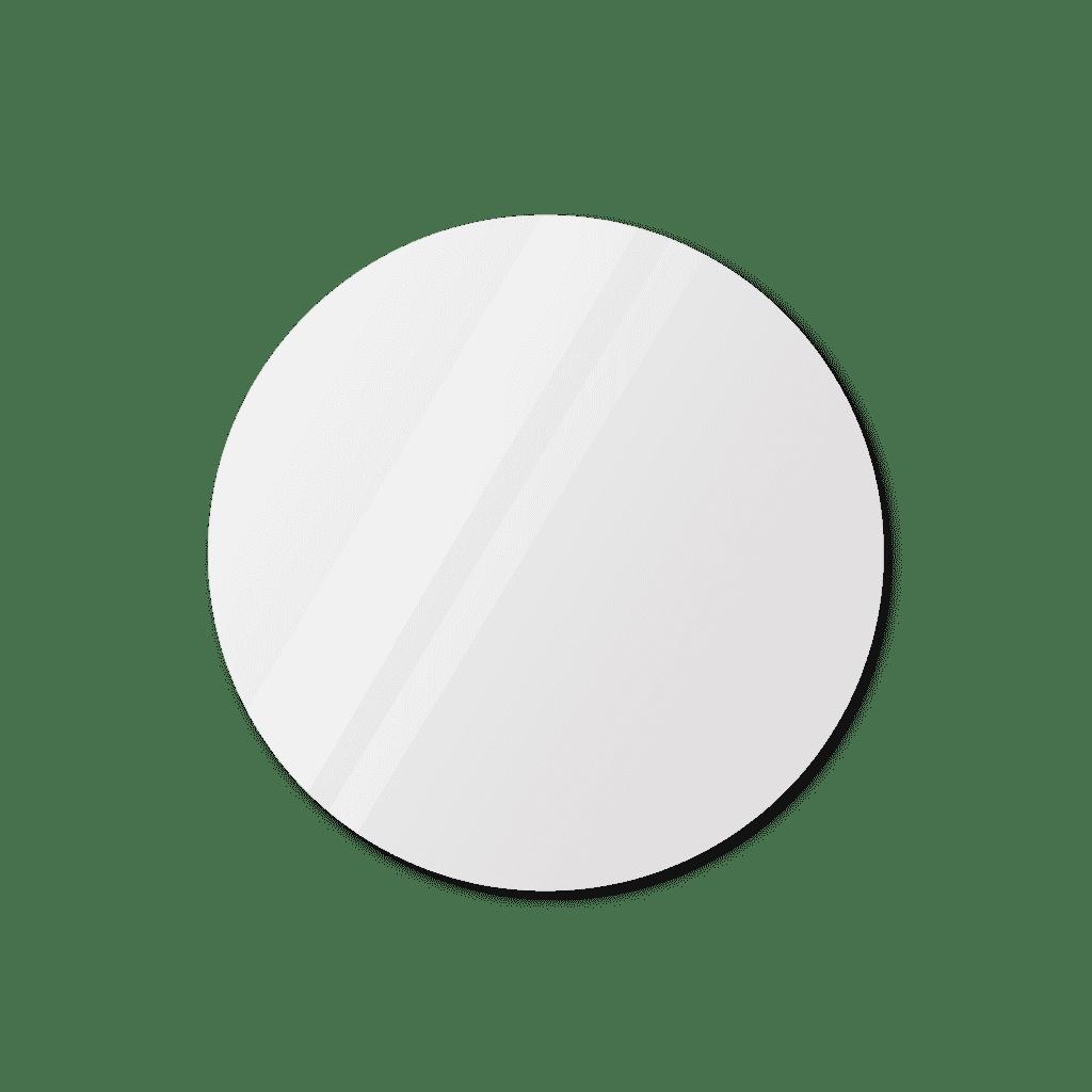 Круглое зеркало диаметром 790 мм с еврокромкой со скрытым креплением