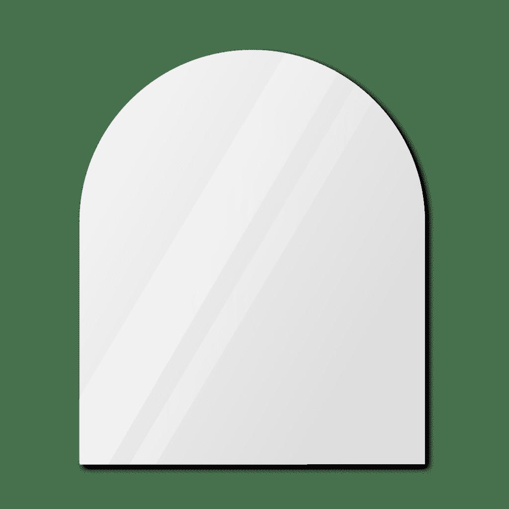 Зеркало в форме арки 1700×1200 мм с фацетом 25 мм для монтажа на клей