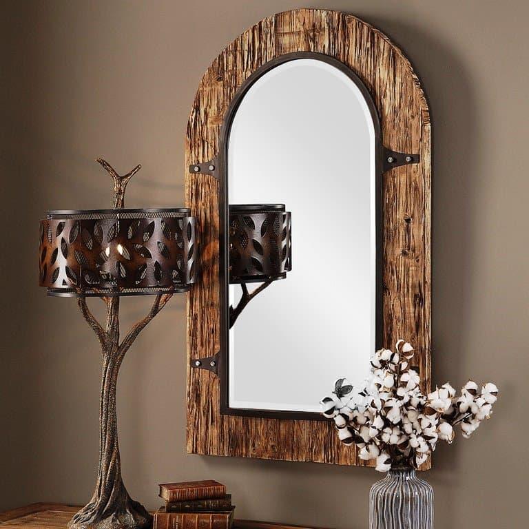 Зеркало в форме арки