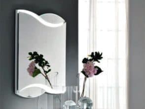 Зеркало для комнаты радиусное