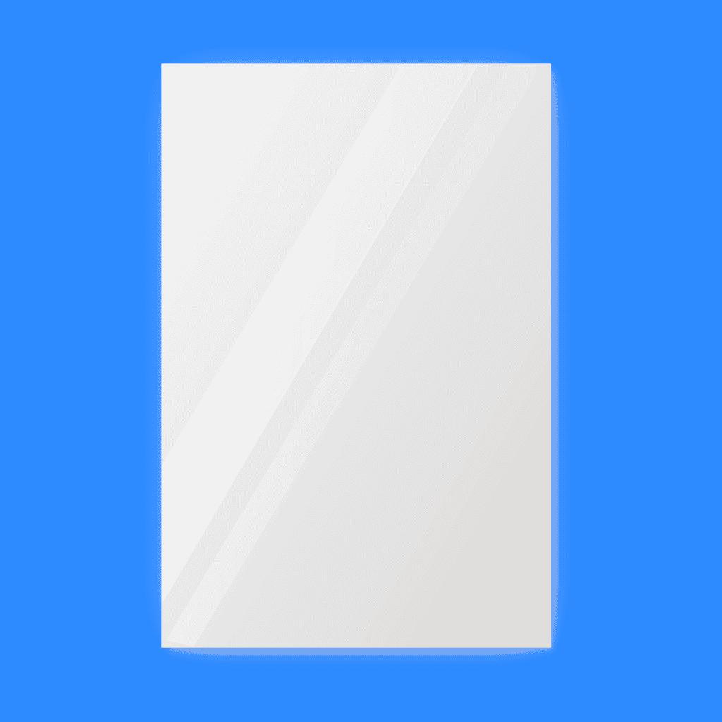 Зеркало 700×1000 мм с парящей подсветкой и фацетом 20 мм