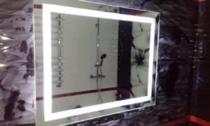 Зеркало с подсветкой в ванную