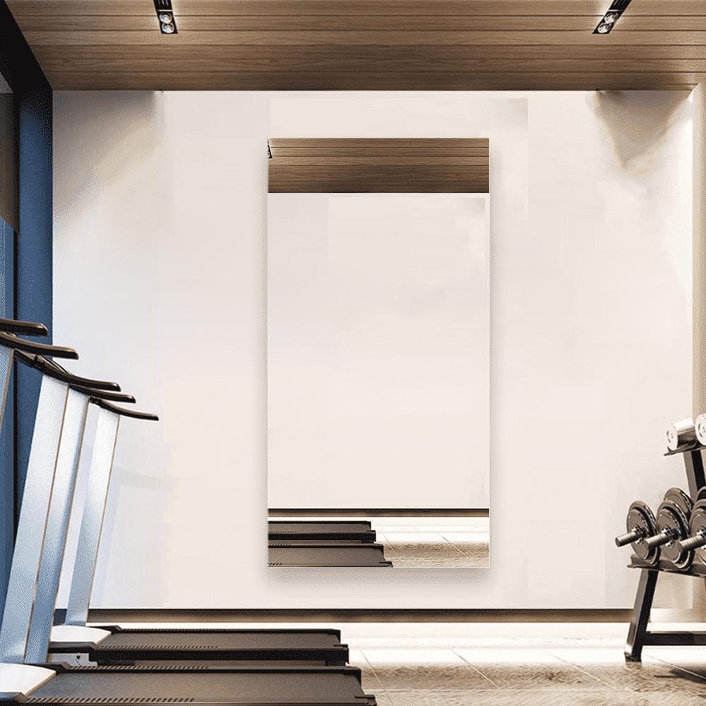 Зеркало для спортзала 700×1400 мм с фацетом 20 мм и скрытым креплением