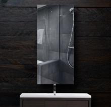 Зеркало в ванную 300×700 мм с фацетом 5 мм и скрытым креплением