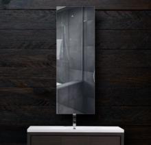Зеркало в ванную 300×900 мм с фацетом 5 мм и скрытым креплением