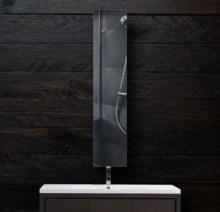 Зеркало в ванную 300×1600 мм с фацетом 5 мм и скрытым креплением