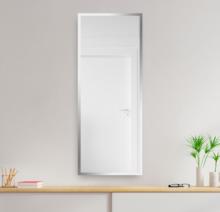 Зеркало 600×1600 мм с фацетом 10 мм в алюминиевой раме