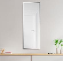 Зеркало 300×900 мм с фацетом 10 мм в алюминиевой раме