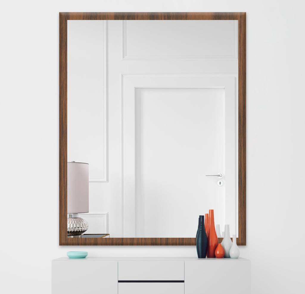 Зеркало 300×400 мм в деревянной раме